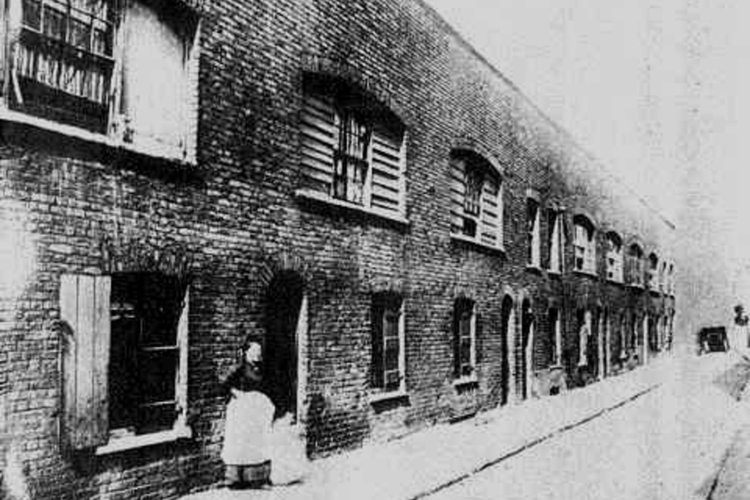 Boundary Street in the 1890s