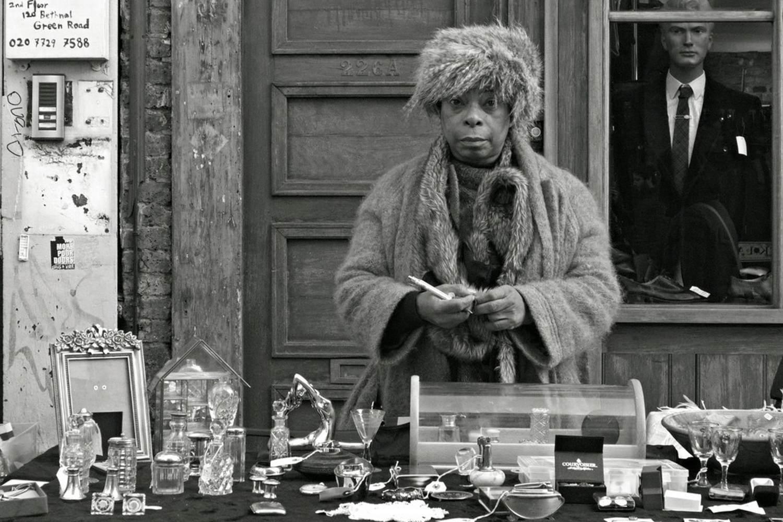 A stallholder on Bethnal Green Road