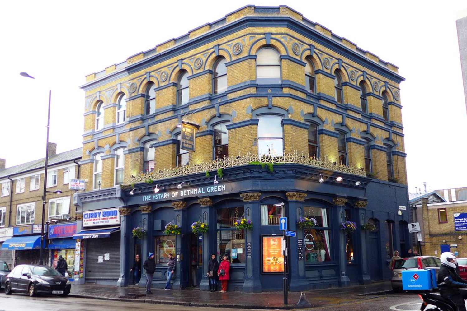 The outside of The Star of Bethnal Green