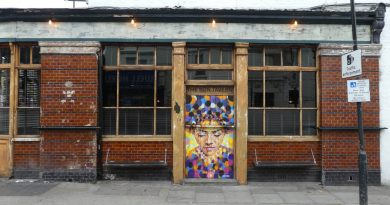 The outside of The Sun Tavern, a pub on Bethnal Green Road